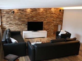 Familienfreundiche 3.5 Zimmer-Ferienwohnung auf 100m2 an der Lenk