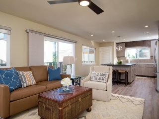 $120 April/May Weekday Special!  Modern condo near downtown shops and the pier b