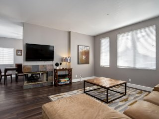 July 1 - 7th Available.  Spacious Modern Condo with AC and Rooftop Deck near Tre