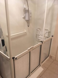 Shower Room with Disabled Shower Access
