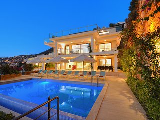 Villa Agena, 300m.to Town, Private Swimming Pool, Stunning View, Jacuzzi,
