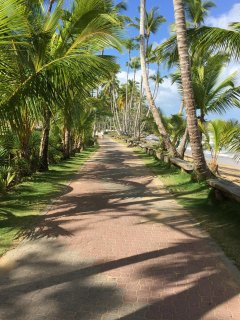 Walk from the grounds right down the beach to great restaurants!