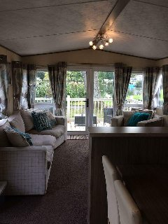 Platinum caravan in prime location of park. Situated on Lakeside north.