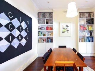 Stylish and Artistic Kirribilli Family Home