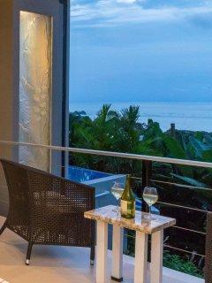 Master Suite 1 Private Ocean View Deck
