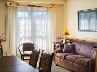 Beautiful and Modern 2 Bedroom Cedar River Suite with Lovely Fireplace