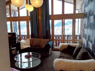 Les Coches appartement 5 chambres avec vue La Plagne Paradiski