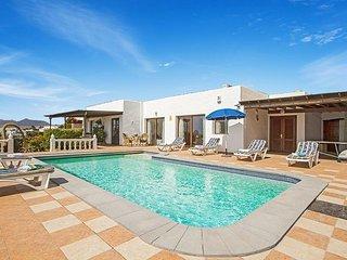 4 bedroom Villa in Puerto del Carmen, Canary Islands, Spain : ref 5334684