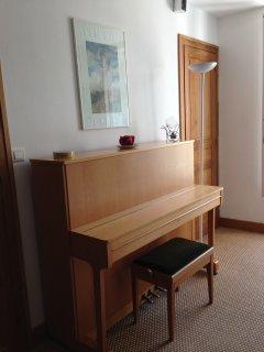 Vous disposerez d'un piano dans la chambre
