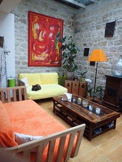 Notre salon où nous nous retrouverons pour discuter