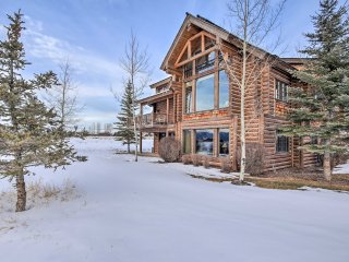 NEW! 3BR Victor Cabin Steps From Teton Springs Spa