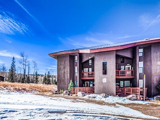 Beautifully decorated ski-in/out, dog-friendly condo with fantastic views!
