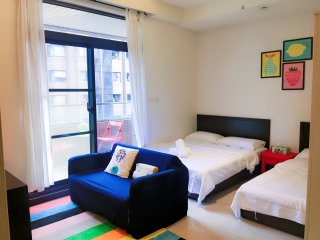 Taipei Main Station, Studio Apartment in Taipei C14