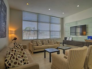 NEW! Modern Condo - ½ Block from Hollywood Beach!