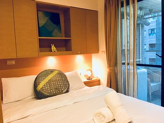 Taipei Main Station, Q Square Garden, Studio Apartment in Taipei B14