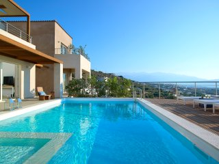 Newly built luxurious villa with infinity pool and majestic sea view