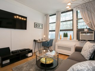 Stay minutes from Times Square, Central Park, Broadway...in a Luxurious Apt.