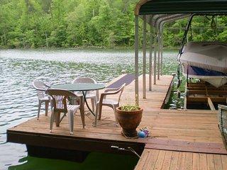 Cozy Lakefront Cabin in Quiet Cove w/Private Dock!