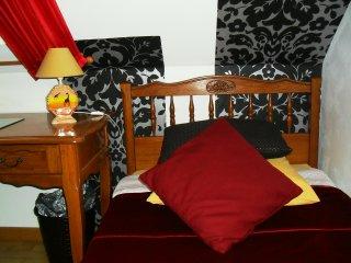 chambre 2 lits simples a la campagne a RUBEMPRE pres d 'Amiens
