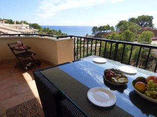 Apartment Isla de Altea, duplex apartment with stunning Sea Views.  Sleeps 6