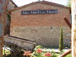 Typical farmhouse in tuscany 'La Tabaccaia'