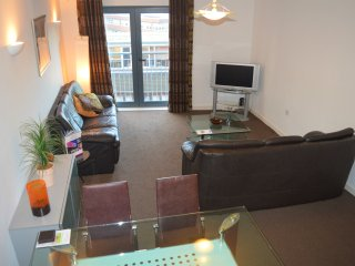 Two Bedroom (2 + 1 Bed) Cathedral Quarter Apartment, Sheffield