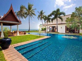 Villa 26 - (5 bedroom option) beach front luxury with Thai chef service