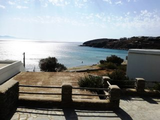 Patroklos: Modern Cyclades, house 30 meters from the beach
