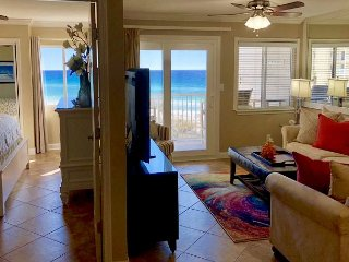 Unimpeded gulf-views, Totally remodeled 2 BR condo #304! Book now!