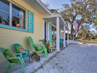 This 2-bedroom, 2-bathroom family-oriented home is perfect for 6.