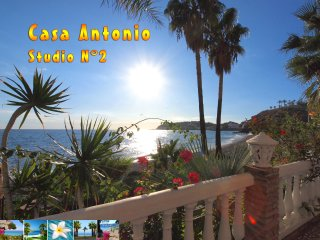 Casa Antonio N° 2 *** Beachfront Studio ***