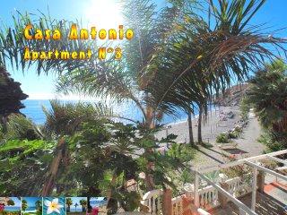 Casa Antonio N° 3 *** Beachfront Apartment ***