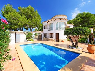 4 bedroom Villa in Benitachell, Valencia, Spain : ref 5556562