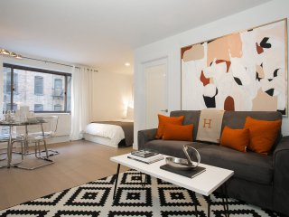 Designer Studio with 24hr Doorman, Gym, Terrace etc by Times Square