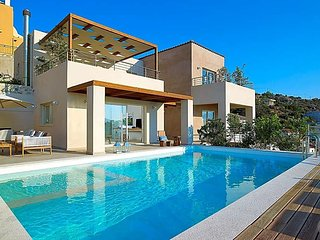 Kokkinon Khorion Villa Sleeps 6 with Pool Air Con and WiFi - 5433177