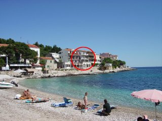 One bedroom apartment Milna, Hvar (A-12244-b)