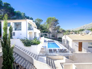 3 bedroom Villa in Cala San Vicente, Balearic Islands, Spain : ref 5571235