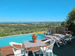 4 bedroom Villa in San Gimignano, Tuscany, Italy : ref 5447534