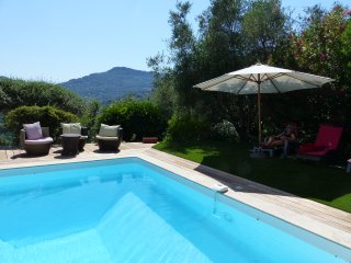 A cosy villa in a very peaceful location AND with amazing views of the nearby