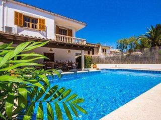 4 bedroom Villa in Playa de Muro, Balearic Islands, Spain : ref 5503220
