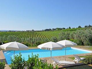 Tavarnelle Val di Pesa Apartment Sleeps 8 with Pool - 5241246