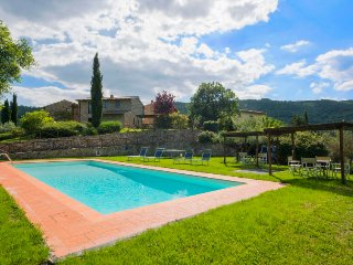 3 bedroom Villa in La Panca, Tuscany, Italy : ref 5055476