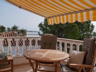 Casas Sitori Appartement 4, aan het strand, prive zwembad (4m x 9m)
