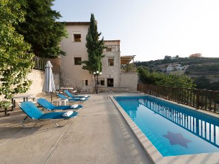 4 bedroom Villa in Maroulas, Crete, Greece : ref 5415898