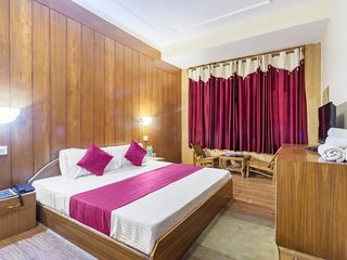 Comfy stay for three, close to a temple
