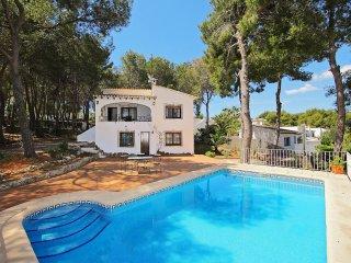 3 bedroom Villa in Moraira, Valencia, Spain : ref 5552491