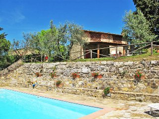 3 bedroom Apartment in Badia a Passignano, Tuscany, Italy : ref 5446602