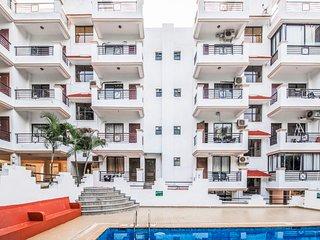 1-BR apartment, near Vagator Beach