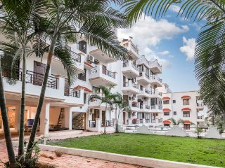 Elegant apartment for two, close to Vagator Beach