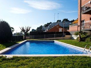 3 bedroom Apartment in Santa Susanna, Catalonia, Spain : ref 5312000